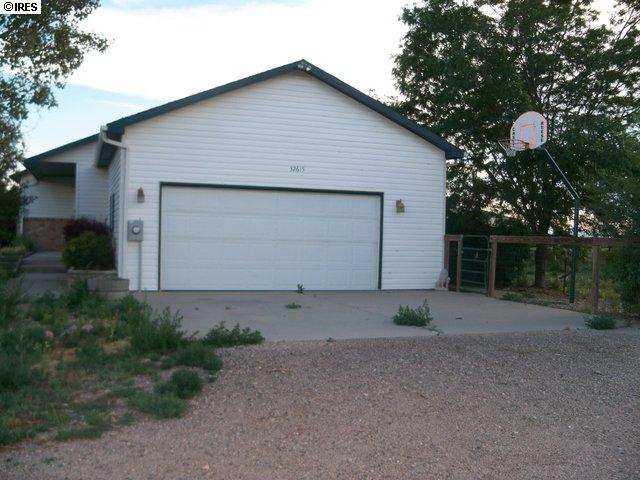 Main garage entry